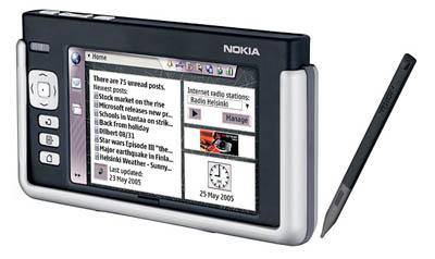 Nokia 770 Tablet