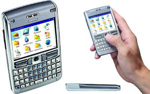 Nokia email device e-61
