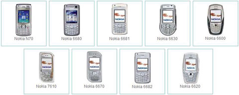 Nokia Phones for Yahoo Go Mobile v1.0