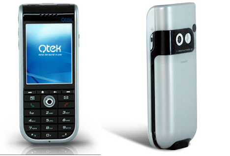 QTek 8310 Edge and WiFi smartphone