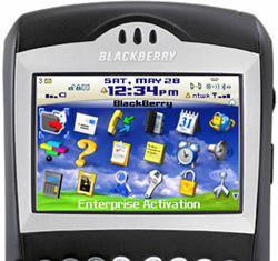 application pour blackberry 7290